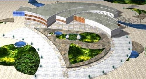 پلان معماری فرهنگ سرا